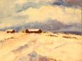 Vintersömn, Olja på duk