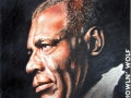 Howlin` Wolf, pastell