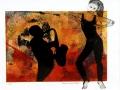 Dans till saxofon, Limtryck
