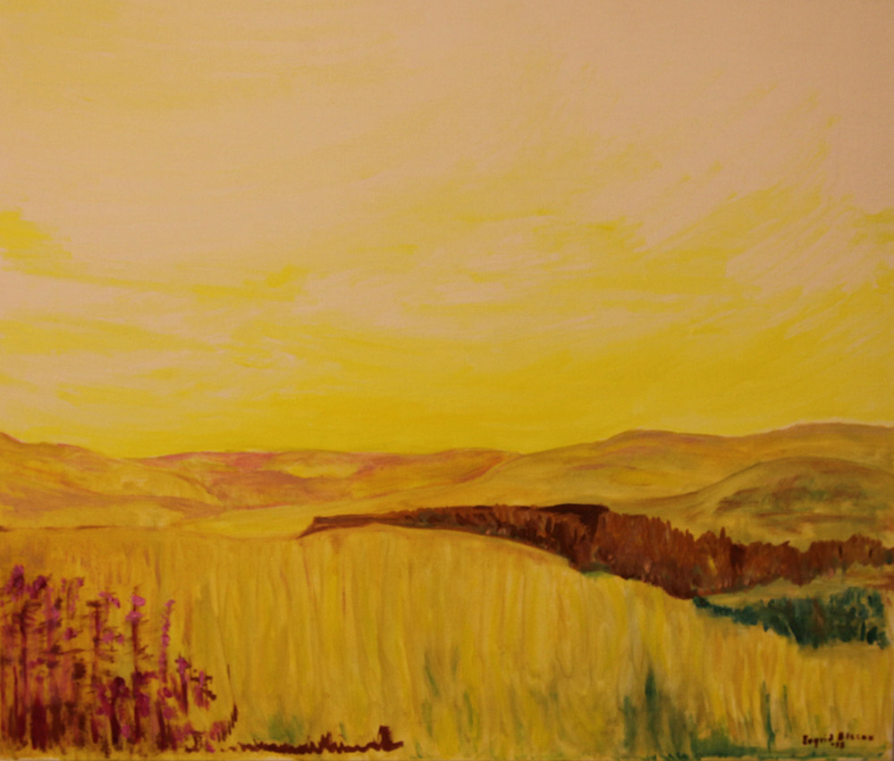 Landskap, olja