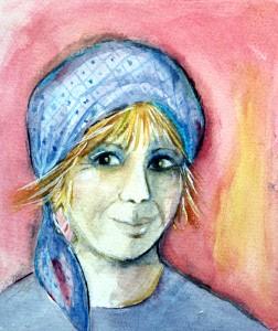 Självporträtt Marita